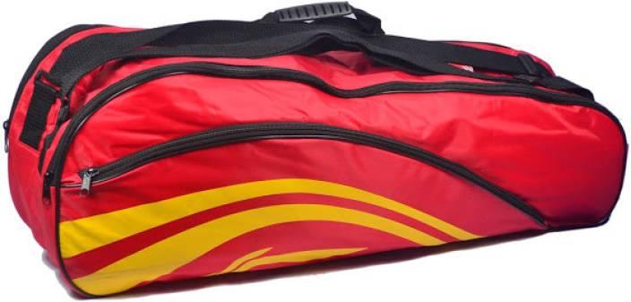 Flipkart - BuyLi-Ning BADMINTON KIT BAG (Red, Kit Bag) at Rs.337 Only