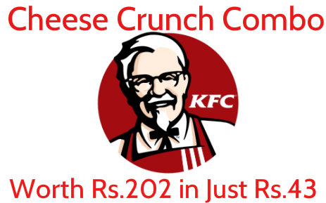 Get KFC Cheese Crunch for Rs.43 Worth Rs.206 from Niki.ai and Amazon Pay