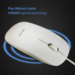 Amazon - Buy Adcom Wired Optical Mouse in just Rs 166