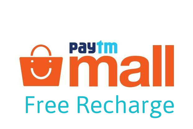 Paytm Mall - Get Free Recharge of Rs.100 in All Numbers