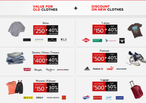 Brand Factory Offer - Unbranded to Branded Festival (Get Discount on New Clothes By Old ones)