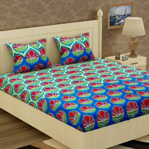 Flipkart - Buy Double Floral Bedsheets in Rs.199