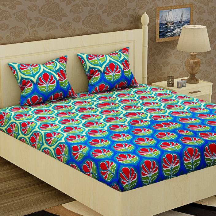Flipkart - Buy Double Floral Bedsheets in Rs.199