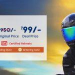 (Loot)Droom.in Flash Sale - Get helmet worth Rs.950 in Rs.99