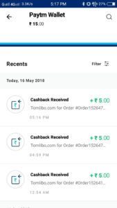 (Proof Added)Tomlibo App -Get Rs.5 PayTM Cash/Refer
