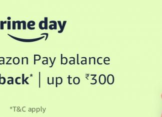 Get 10% Back up to Rs.300 on Adding Money