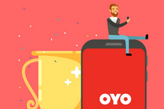 Oyo App - Get Rs.100 PayTM on Referring 2 Friends and Rs.1000 OYO Cash