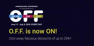 AMEX Online Fab Fest