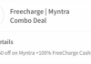 (Loot)Freecharge Deal: Get Rs.10 Recharge in Rs.2 + Rs.150 Off on Myntra