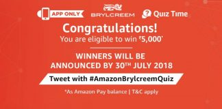 Amazon Brylcreem Quiz