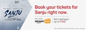 Sanju Movie Offers, Promo codes, and Discounts