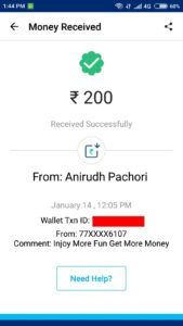 (Loot) Injoy App - Get Rs.50 Free Paytm Cash on Sign up + Rs.10 on Refer
