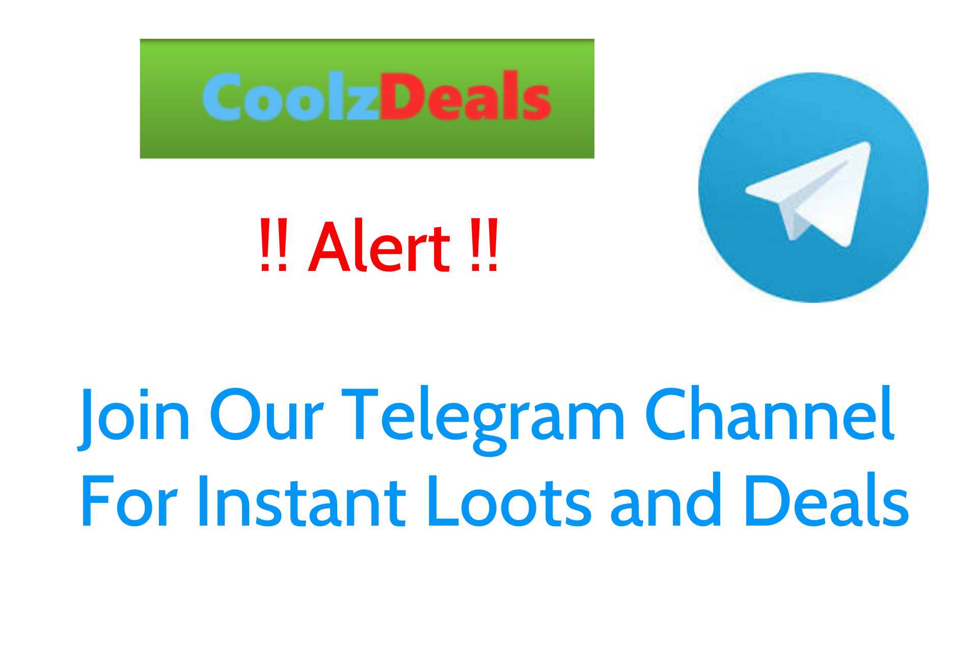 Attention join our telegram official broadcast for instant loots join our telegram official broadcast for instant loots free recharge tricks coolzdeals free paytm cash ccuart Gallery