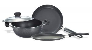 Get Prestige Non-Stick BYK Set, 3-Pieces in Just Rs.1499