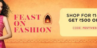 RelianceTrends Discount Offer - Flat Rs.500 Off on 1499 and Above