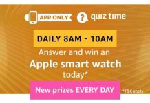 Amazon Apple Smart Watch Quiz