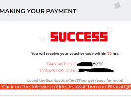 Get Amazon/Flipkart/BMS/VLCC Vouchers in Discount with Scantastic