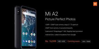 Xiaomi Mi A2 & A2 Lite - Details, Next Sale Date and Script