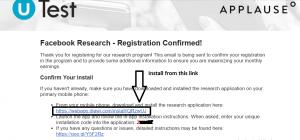 Facebook Research App