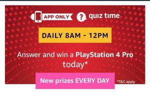 AmazonPlaystation 4 Pro Quiz Answers