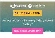AmazonSamsung Galaxy Note 8 Quiz