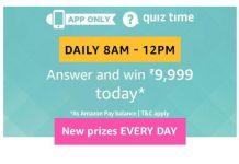 Amazon 22nd August Quiz