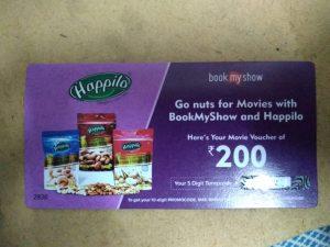(Free Rs.200 BMS Voucher) Happilo Premium Seedless Raisins, 500g, in Just Rs.64