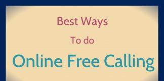 Online Free Calling