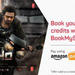 Get Saaho Movie Ticket Effectively Free from BookMyShow