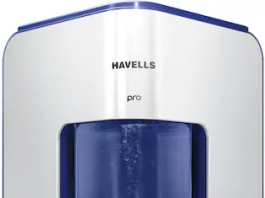 PaytmMallHavells Pro 8 L RO+UV Electric Water Purifier (Silver)