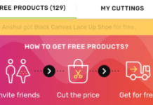 LimeRoad Cut the Price Offer - Get Absolutely Free Products
