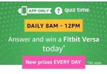 Amazon Fitbit Versa Quiz