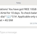 Airtel Free Internet Tricks 2018 - Get Free 10 GB Internet by Dialing Number