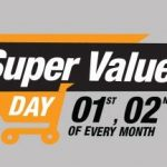 (1-7 Oct)Amazon Super Value Day - Huge Discounts and Cashback up to Rs.1200