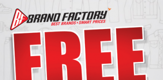 Brand Factory Offer Today - Free Shopping Weekend Offers