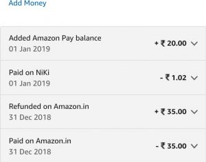 Get Rs.20 Free Amazon Pay Balance By Paying Rs.1