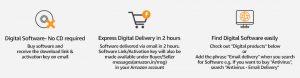 Amazon - Buy Digital Softwares at 75% Off