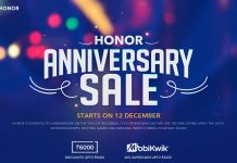 Honor Anniversary Sale - Up to Rs.6000 Off on Honor Phones, Rs.1 Sale and Many More