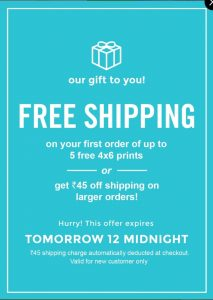 (Hot)FreePrints App - Get 4x6 Photo Print Absolutely Free with FreePrints