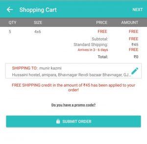 FreePrints App - Get 25 Photos Printing Absolutely Free