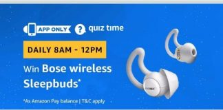 (All Answers)Amazon Bose Wireless Sleepbuds Quiz Answers