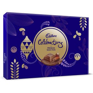 Buy Cadbury Celebrations Premium Assorted Chocolate Gift Pack, 286.3g in just Rs.220