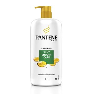 Amazon - Buy Pantene Silky Smooth Care Shampoo, 1L in Just Rs.300