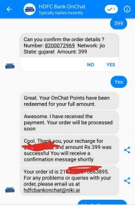 HDFC Bank Onchat Refer & Earn Offer- Get Rs.50 Per Refer