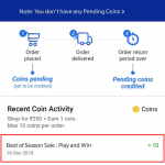 (All Users) Trick to get Free Free 10 Flipkart Plus (All Users) Trick to get Free Free 10 Flipkart Plus Coins