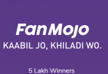 (Proof Added)Fanmojo App - Get Rs.5/Refer Free Paytm Cash from App (Unlimited)