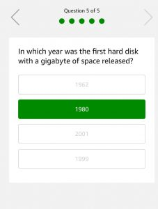Amazon 25th January Quiz - Answer & Win Free Rs.10000