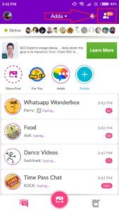 (Loot Lo) Adda Chat - Get Rs.500 Free PayTM Cash By Referring Friends