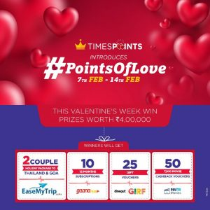 (Loot Lo)TimesPoints - Get Free Trip to Goa/Thailand and Prizes Worth Rs.4 lacs