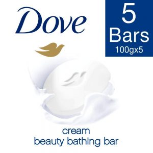 (Hot) Buy Dove Cream Beauty Bathing Bar, 100g (Buy 4 Get 1 Free) In Just Rs 180